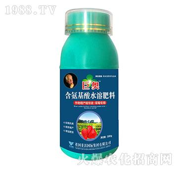 草莓专用-含氨基酸水溶肥料-巨奥