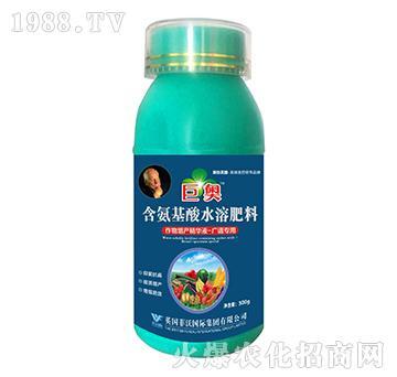 广谱型-含氨基酸水溶肥料-巨奥