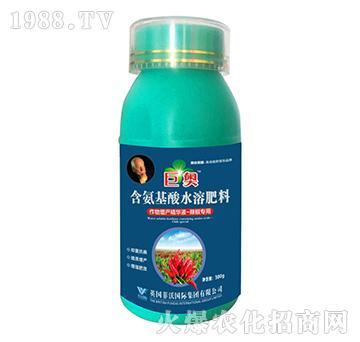 辣椒专用-含氨基酸水溶肥料-巨奥