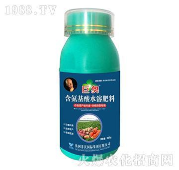 块根块茎专用-含氨基酸水溶肥料-巨奥