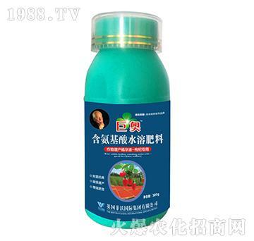 枸杞专用-含氨基酸水溶肥料-巨奥