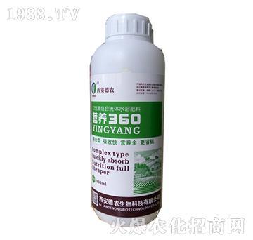 营养360(12元素络合流体水溶肥)-德农