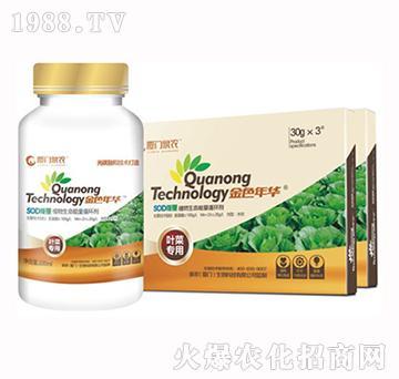 叶菜专用植物生长能量液肥-金色年华-厦门泉农