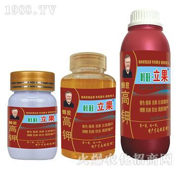 蜂胶高钾液肥-叶旺・立