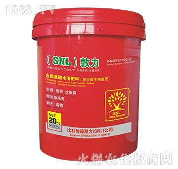含氨基酸水溶肥料-敦力-施耐力