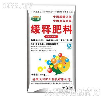 小麦高产型缓释肥料25-13-10-天河百润