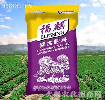复合肥料17-6-27-福麒-住商红福
