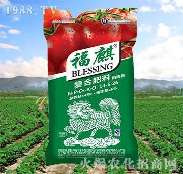 复合肥料14-5-26-福麒(番茄)-住商红福