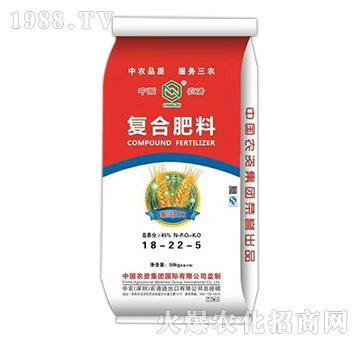 复合肥料18-22-5-中农