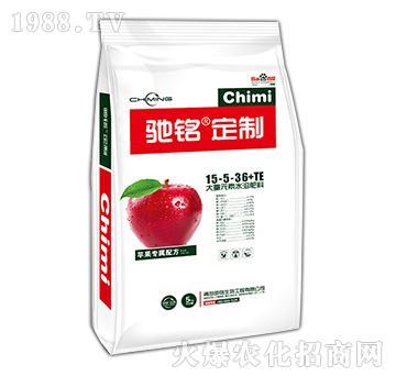 苹果专用大量元素水溶肥15-5-36+TE-驰铭定制