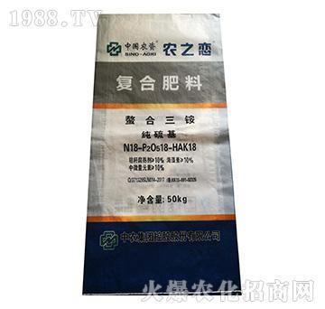 螯合三铵复合肥料18-18-18-农之恋-中农国控