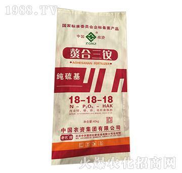 纯硫基螯合三铵18-18-18-中农国控
