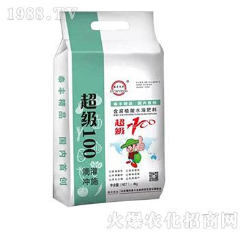 4kg含腐植酸水溶肥-超级100-梁山泰丰