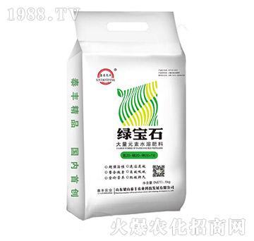 大量元素水溶肥20-20-20+TE-绿宝石-梁山泰丰