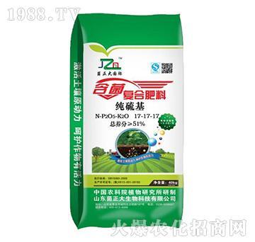 含菌复合肥料17-17-17-菌正大