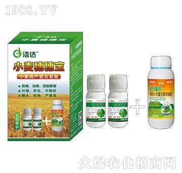 小麦高产复合套餐(五亩)-小麦穗穗宝-浩达