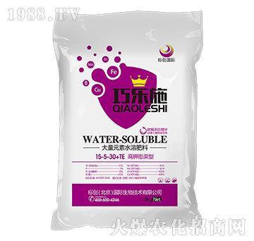 高钾膨果型大量元素水溶肥15-5-30+TE-巧乐施-标创