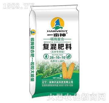 玉米专用碳酶螯合复混肥