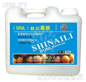 柑橘高产型氨基酸熬合冲施滴灌肥-敦力果然-施耐力