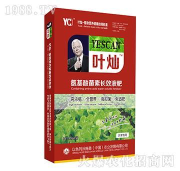 叶菜专用氨基酸菌素长效液肥-叶灿-沃施美