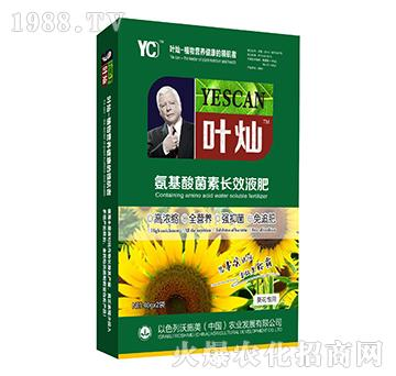 葵花专用氨基酸菌素长效液肥-叶灿-沃施美