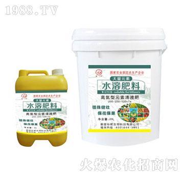果优佳高氮型元素清液肥