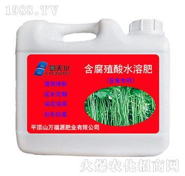 豆角专用含腐殖酸水溶肥-鄂天化-万福源