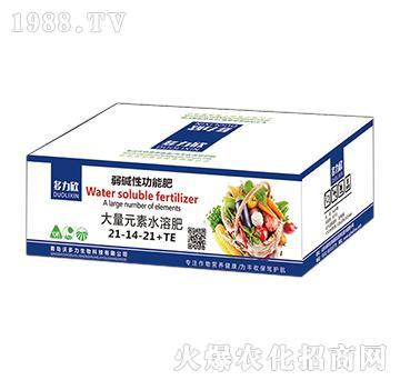 多力欣-大量元素水溶肥21-14-21+TE