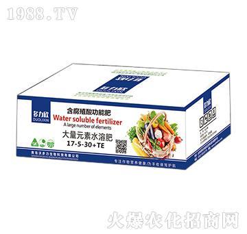 多力欣-大量元素水溶肥17-5-30+TE