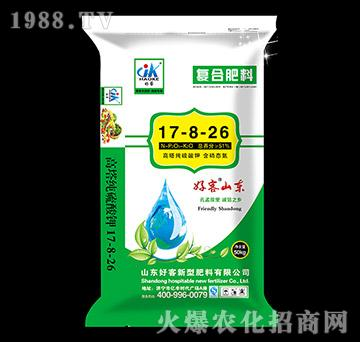 50kg高塔纯硫酸钾复合肥17-8-26-好客