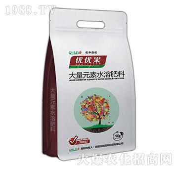 高钾型大量元素水溶肥12-8-40-优优果