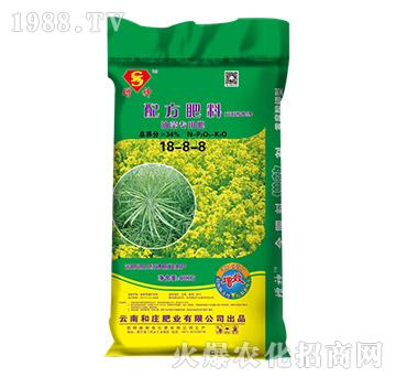 油菜专用配方肥料18-