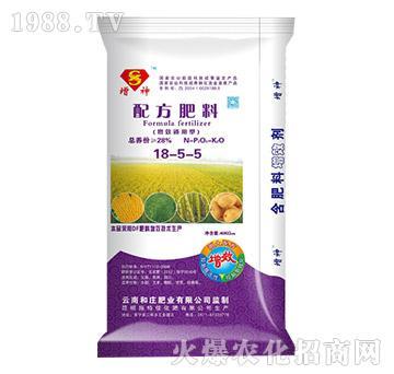 配方肥料18-5-5-增神-和庄肥业