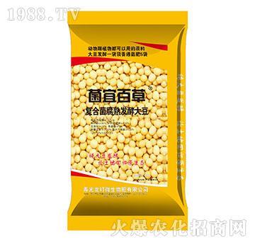 复合菌腐熟发酵大豆-菌宜百草-龙灯