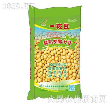 腐熟發酵大豆-一粒豆-豐富生物