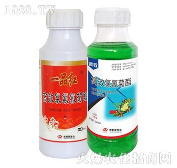 2.5%高效氯氟氰菊酯+4.5%高效氯氰菊酯-一品红-农利发