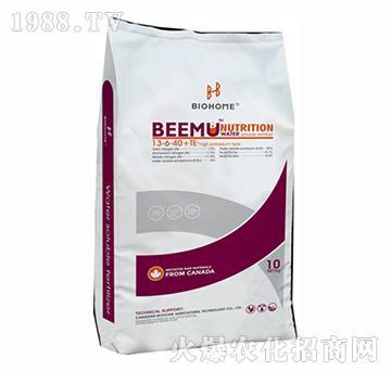 大量元素水溶肥13-6-40+TE-贝姆-倍好农业