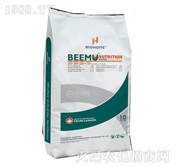 大量元素水溶肥20-20-20+TE-贝姆-倍好农业