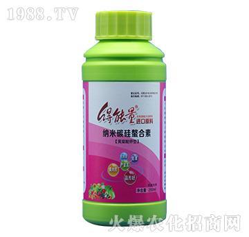 黄腐酸钾型纳米碳硅螯合素-得能量-绿邦胜农