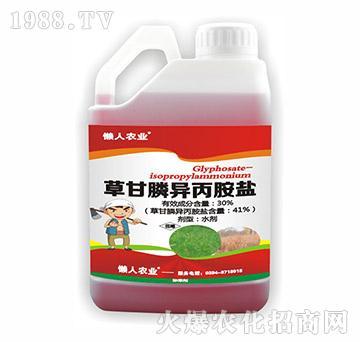 30%草甘膦异丙胺盐(壶)-懒人农业