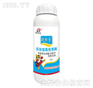 高效氯氟氰菊酯-功夫王-博宇农化