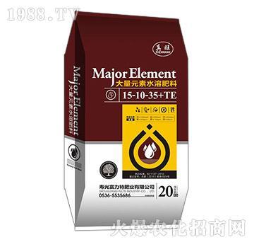 大量元素水溶肥料15-10-35+TE-真旺-欧麦斯