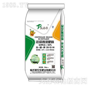 控释掺混肥料26-12-14-久禾丰-美农乐
