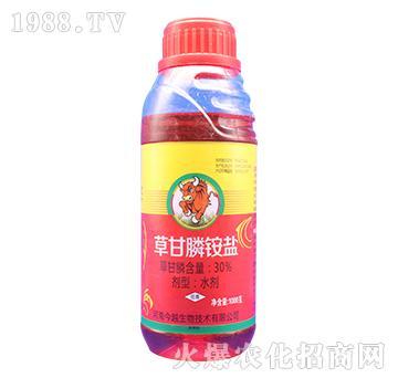 30%草甘膦铵盐(1000克)权宜-今越生物
