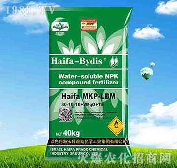 高氮型大量元素水溶肥30-10-10+2MgO+TE-拜迪斯