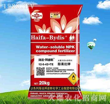 高钾型大量元素水溶肥12-6-42+TE-拜迪斯