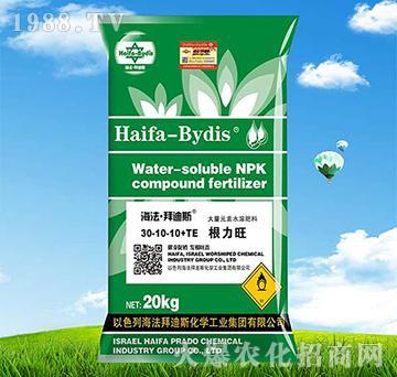 高氮型大量元素水溶肥30-10-10+TE-拜迪斯