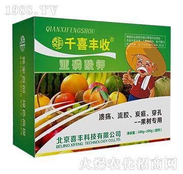 果树专用亚磷酸钾-千喜丰收-喜丰