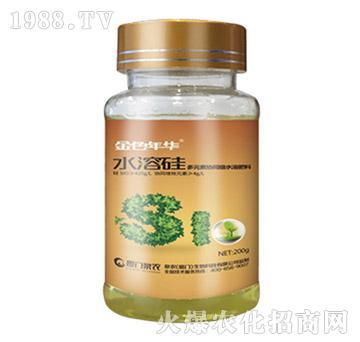 金色年华水溶硅(多元素协同级水溶肥料)-泉农
