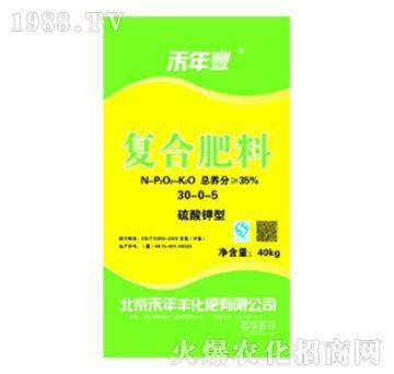 硫酸钾型复合肥料30-0-5-禾年丰